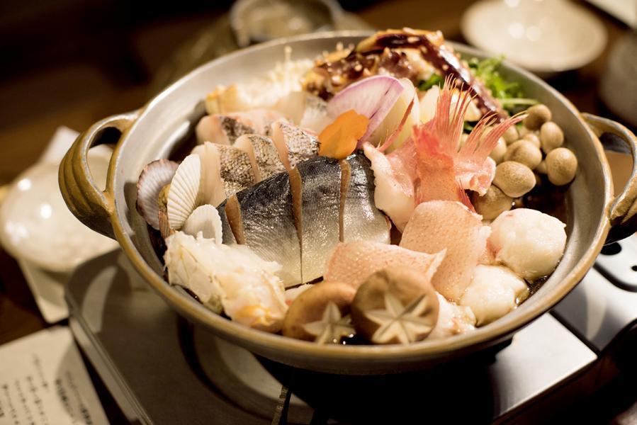 在道東地區,海鮮鍋也是常見美食。