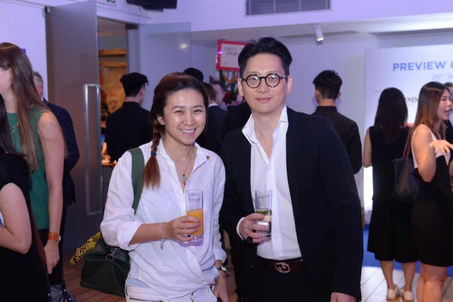 (左)Lucie Chang及Benjamin W.Yim