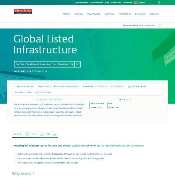全新網站會定期更新基金價格及數據表現等市場資訊,以滿足投資者的訊息需求。