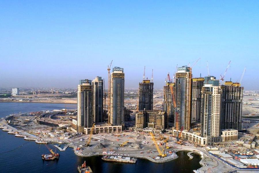 杜拜雲溪港是由Emaar集團正在建造的大城市,得到中國投資者的青睞。