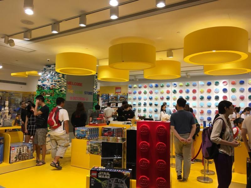 凱知樂的第三間LEGO認證專門店,將在年底開幕。