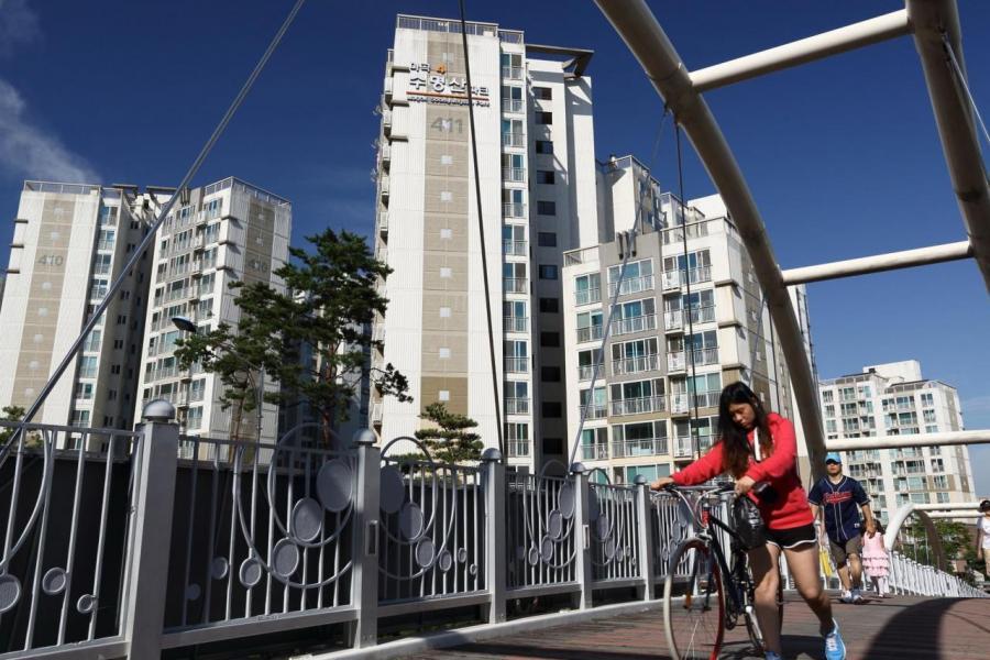 政府和土地公司聯合推出的可貸款的傳貰房。