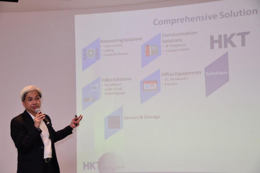 香港電訊商業市務企業系統副總裁黃振華表示,小型會議室會議正增長迅速。