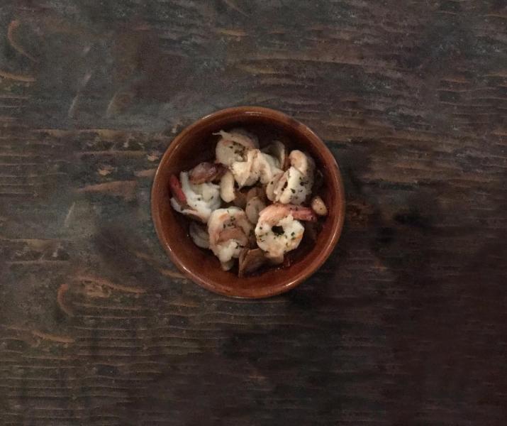 蒜蓉橄欖油海蝦