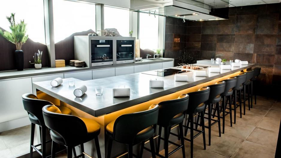 Aulis設有12個座位,每晚供應10至15道菜的餐單。