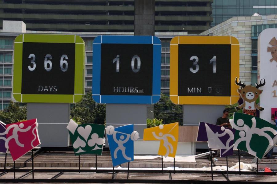 第18屆亞運會將於今年8月在印尼首都雅加達舉辦。