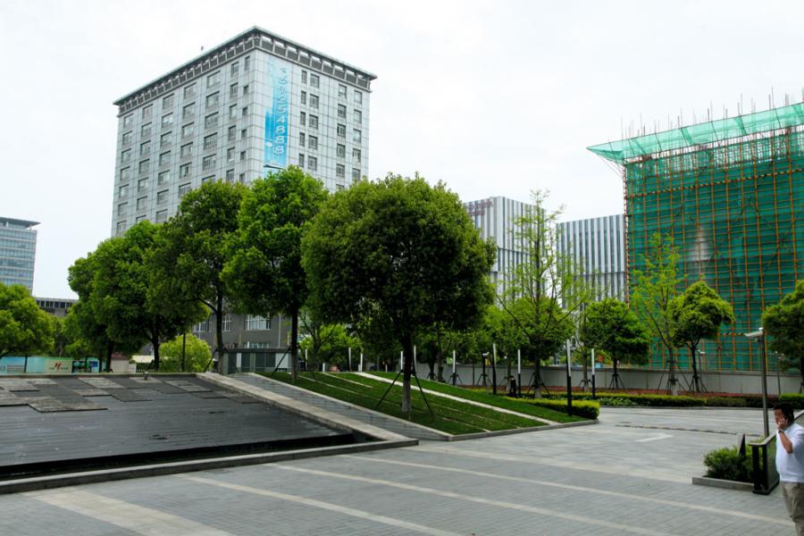 賽伯樂公司的上海虹橋商務廣場。
