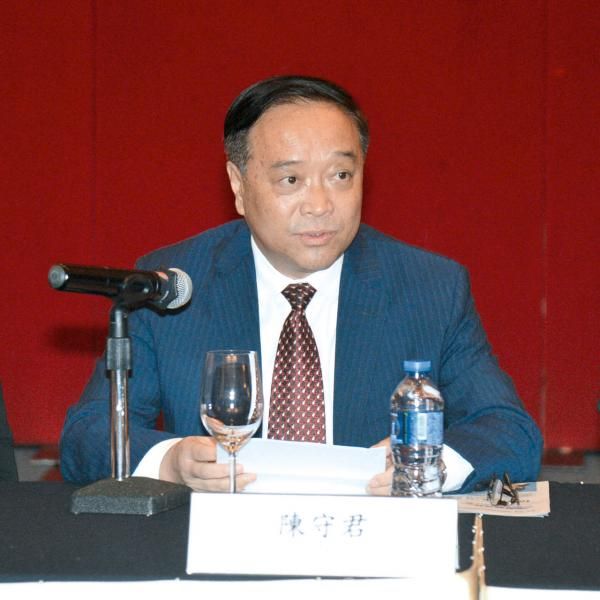 吉林省旅發委副主任陳守君矢言要將當地打造成世界高端冰雪旅遊目的地。