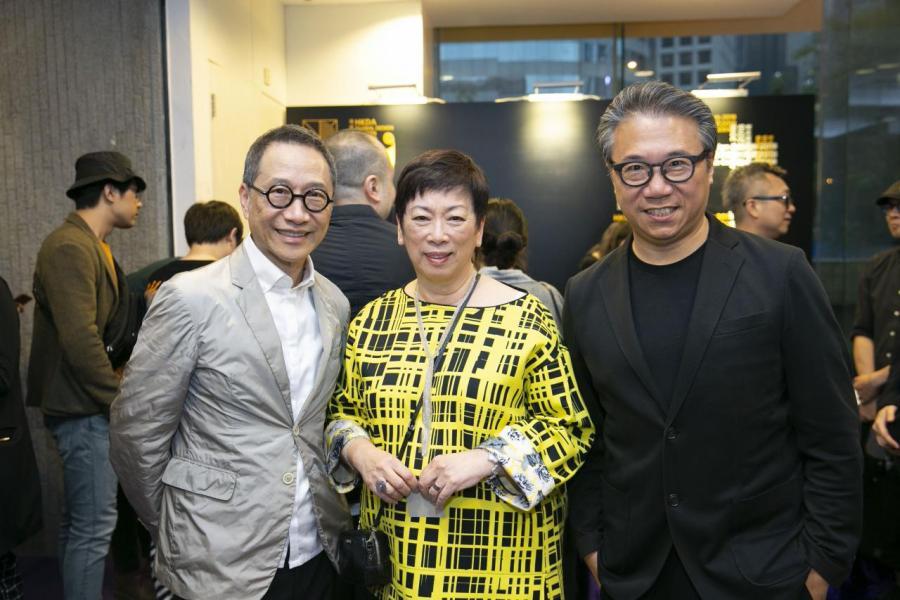 頒獎典禮當晚集合名人及設計大師。