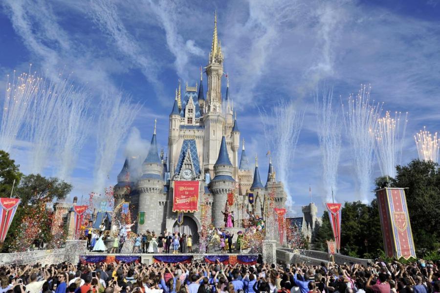 奧蘭多擁有全球最大的迪士尼樂園。
