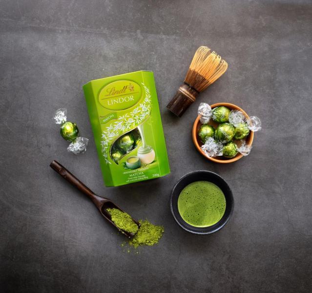品牌為亞洲市場設計的全新抹茶軟心朱古力。