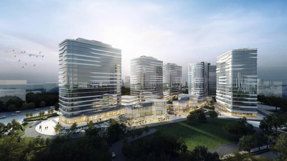 南太新發展項目構想圖。