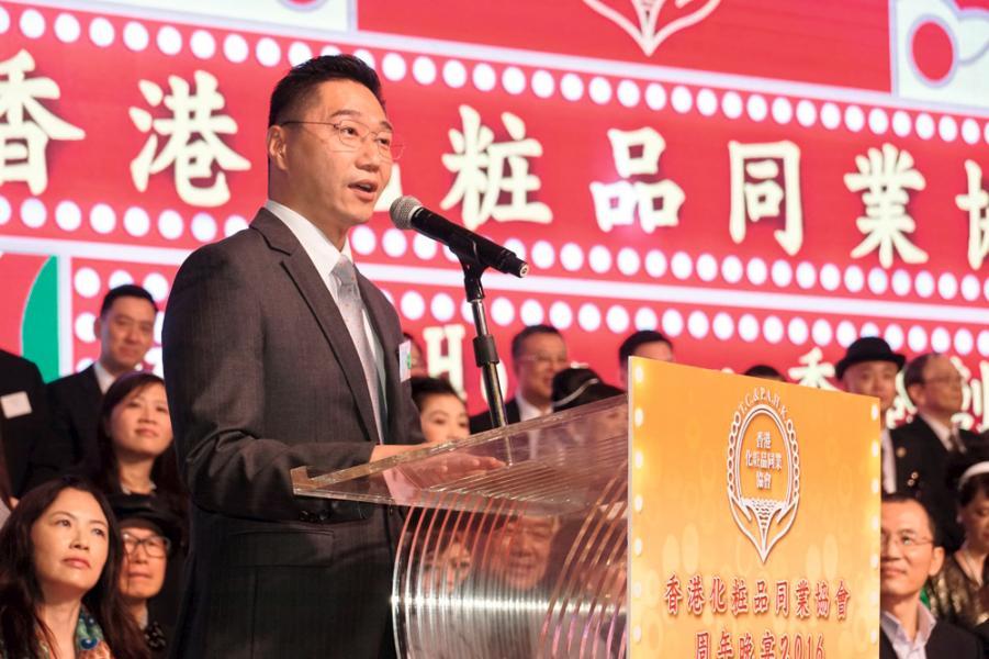 邵家輝經常出席行業商會的活動,聆聽業界各方意見。