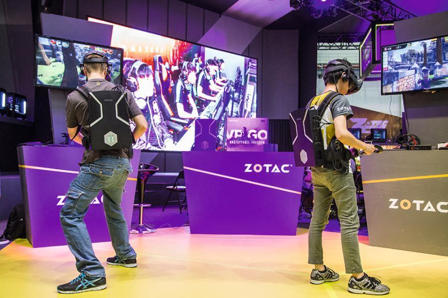 Computex2017舉辦VR eSports邀請賽,增添VR元素,令電競比賽更為吸引。