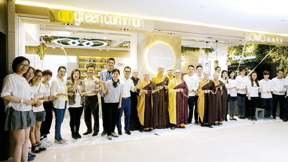 SVhk推動成立的Green Monday在本港推廣茹素文化。