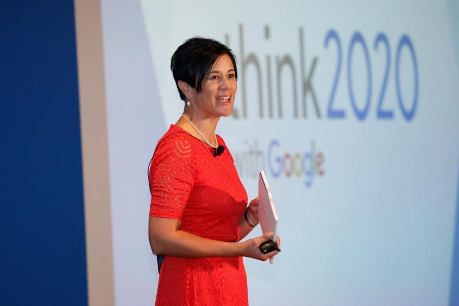 Google 香港銷售和營運董事總經理Leonie Valentine