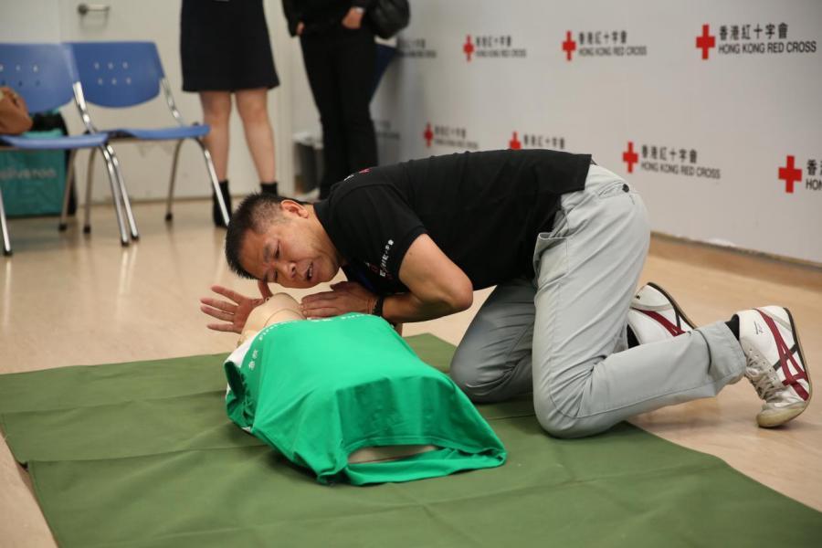 戶戶送為送餐專員提供急救課程,以造福香港社會。