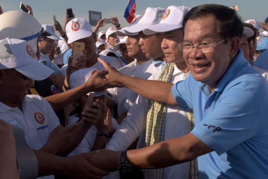 埔寨首相洪森是中國在東南亞地區堅定盟友。