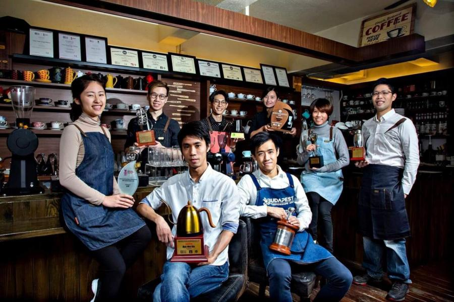獲獎的本地咖啡師和世界級評審之咖啡品牌Accro Coffee。