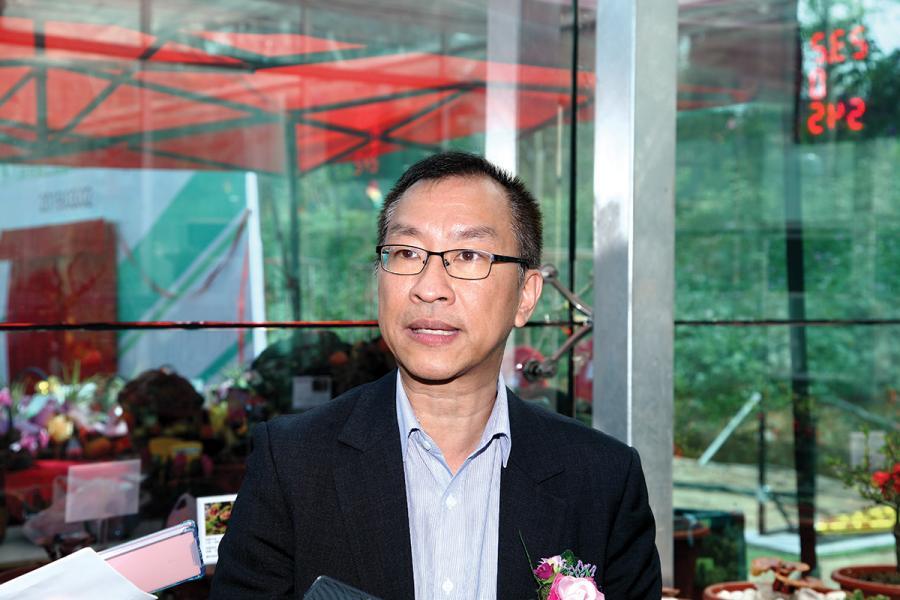 漁護署助理署長馬惠忠。