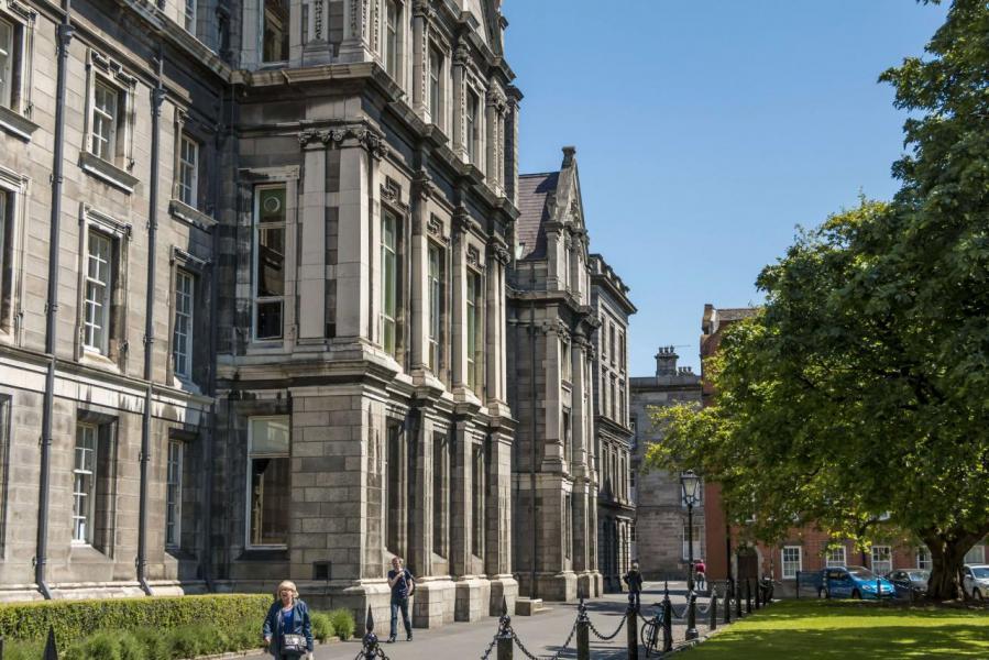 世界一流的大學如聖三一學院(Trinity College)位於都柏林。