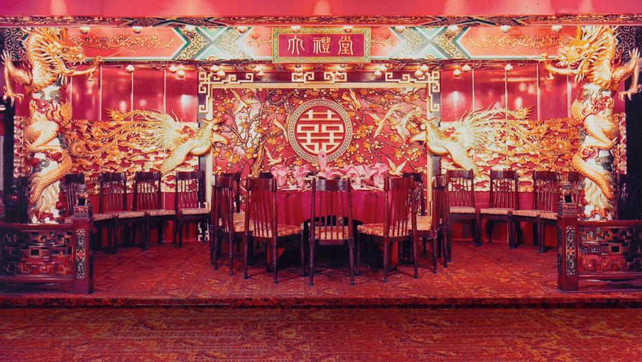 在鑽石酒家上環總店內耗資過百萬的龍鳳大禮堂,已於2012年捐給沙田文化博物館作展覽之用。