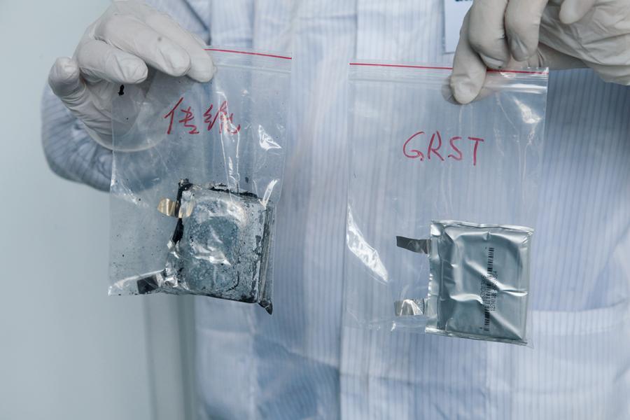 GRST公司強調生產鋰電池經過嚴格的安全測試。