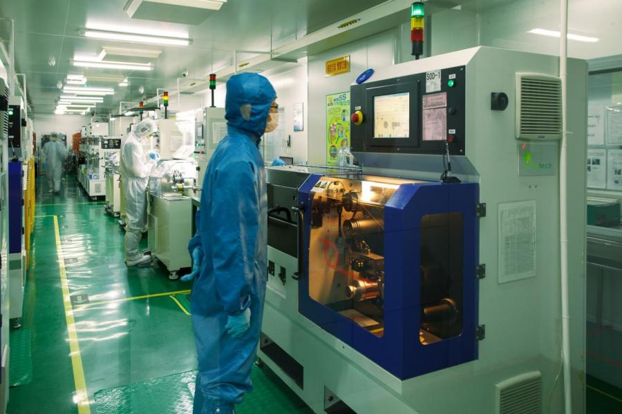 駿碼科技主力生產半導體封裝的鍵合綫及封裝膠。