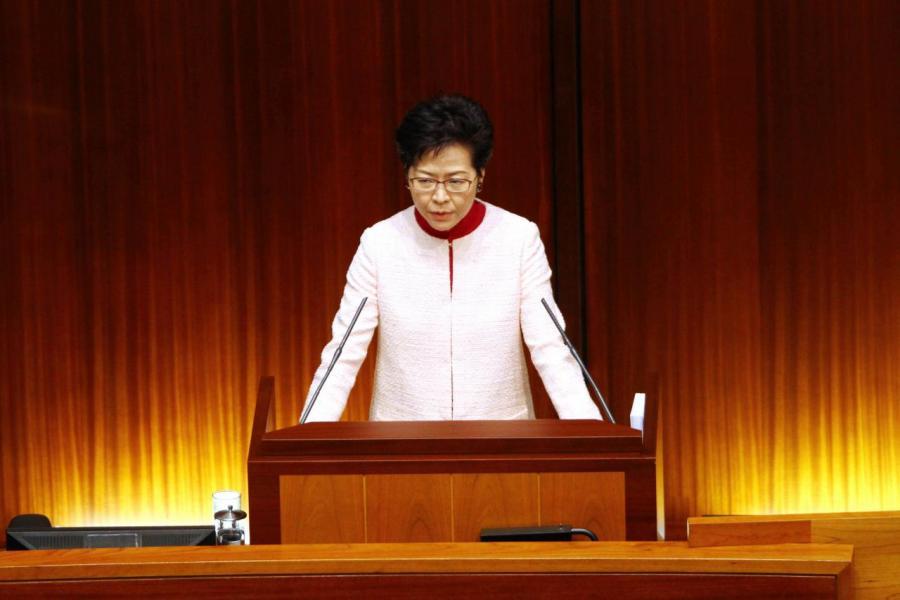 林鄭決定將東大嶼項目的規模擴大。