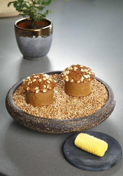 Soda bread with miso butter:大廚自家製的蘇打麵包,看似平平無奇,入口外脆內軟,配上同樣是自家製的味噌牛油,滋味無窮。