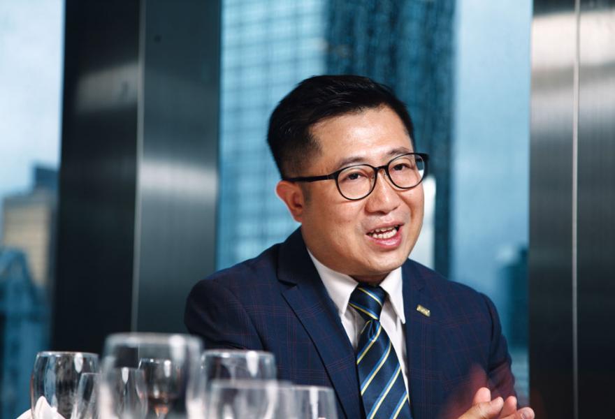 AICFC創會主席周浩雲博士。