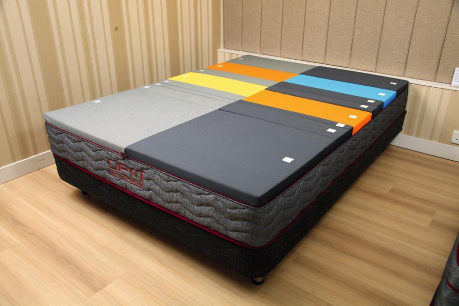許章榮指出,DPM利用電腦數據替客戶分析,度身訂造設計合適的個人床褥。