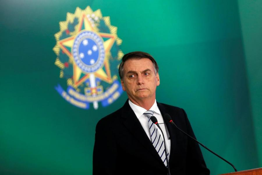 巴西新任總統博索納羅以目標不可能達成為由,拒絕主辦今年十二月的聯合國氣候大會。