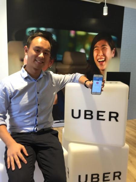 Uber 香港總經理佘雋知