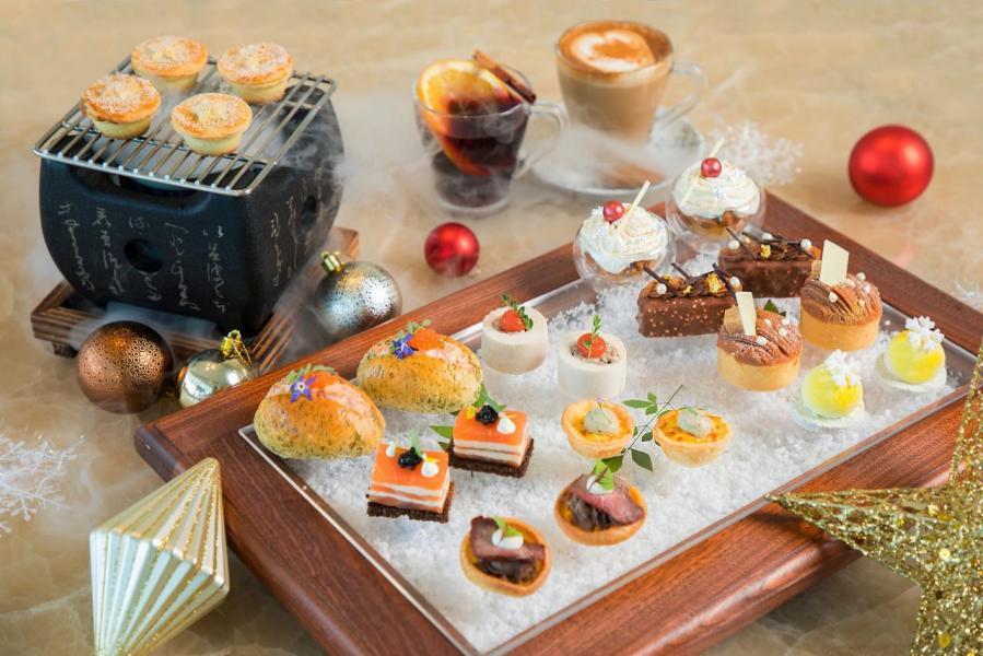 香港嘉里酒店節慶下午茶