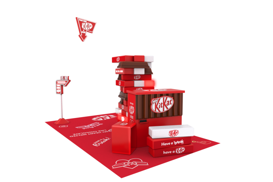 「Create Your Own KIT KAT®」pop up store