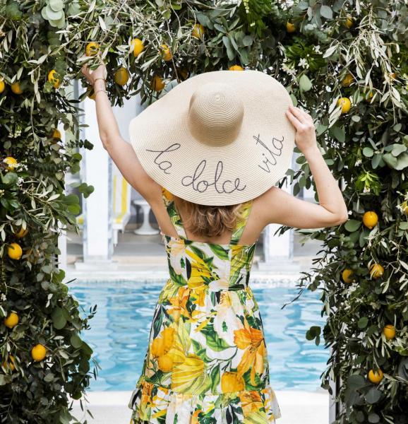 柏凱麗酒店將其空中花園和泳池打造成集美景,美食和魅力於一身的意大利天堂。