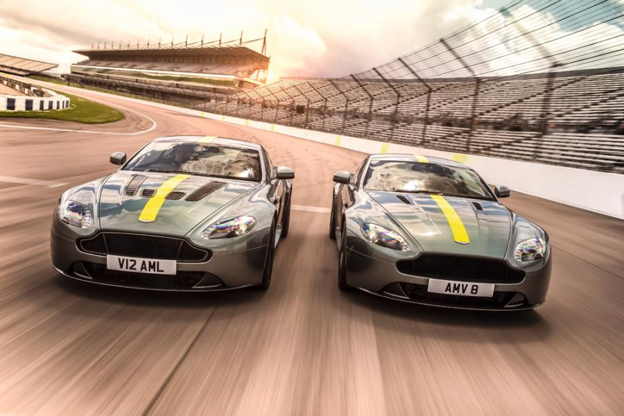 全新Aston Martin Vantage AMR 共限量 300 台,有 V8 及V12兩個版本。