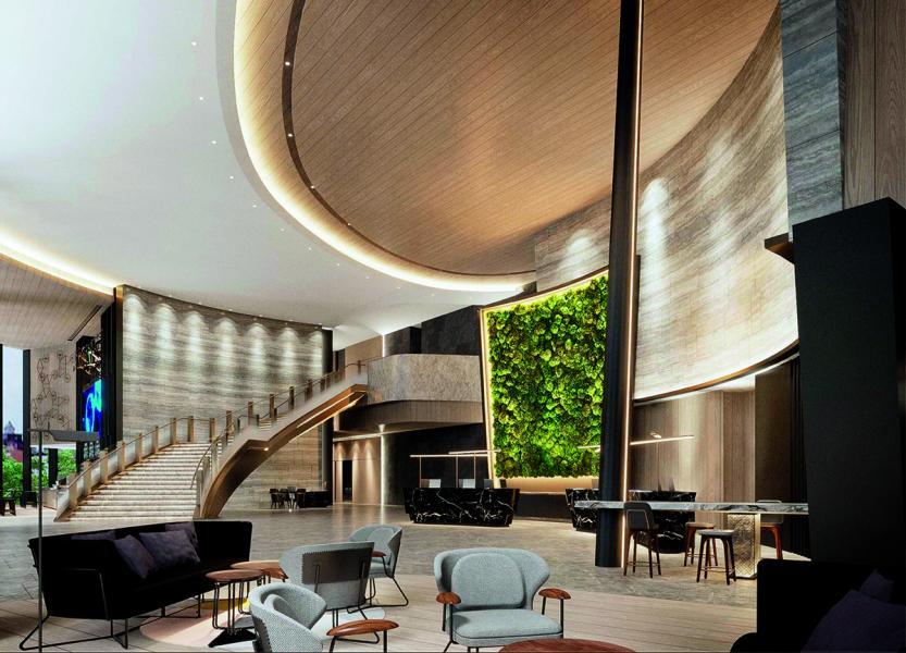 室內設計則由本地著名室內設計師及BTR Workshop創辦人陳樂文操刀,充滿了大自然氣息。