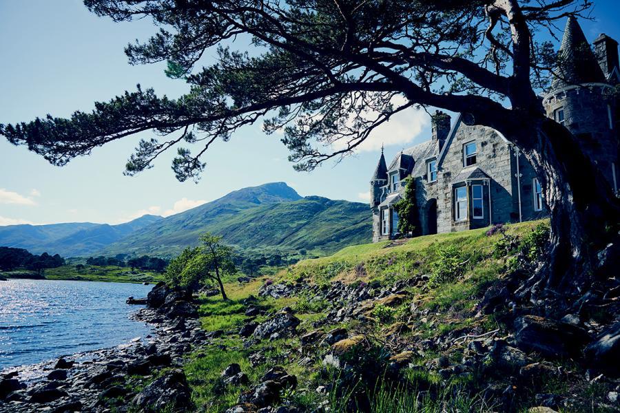 位於蘇格蘭高地中心地帶的Glen Affric Estate。
