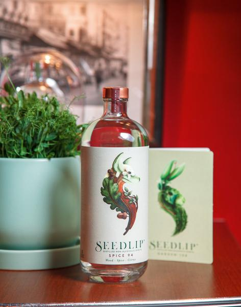 Seedlip由植物所製成,以類似琴酒的風味製作無酒精飲品。