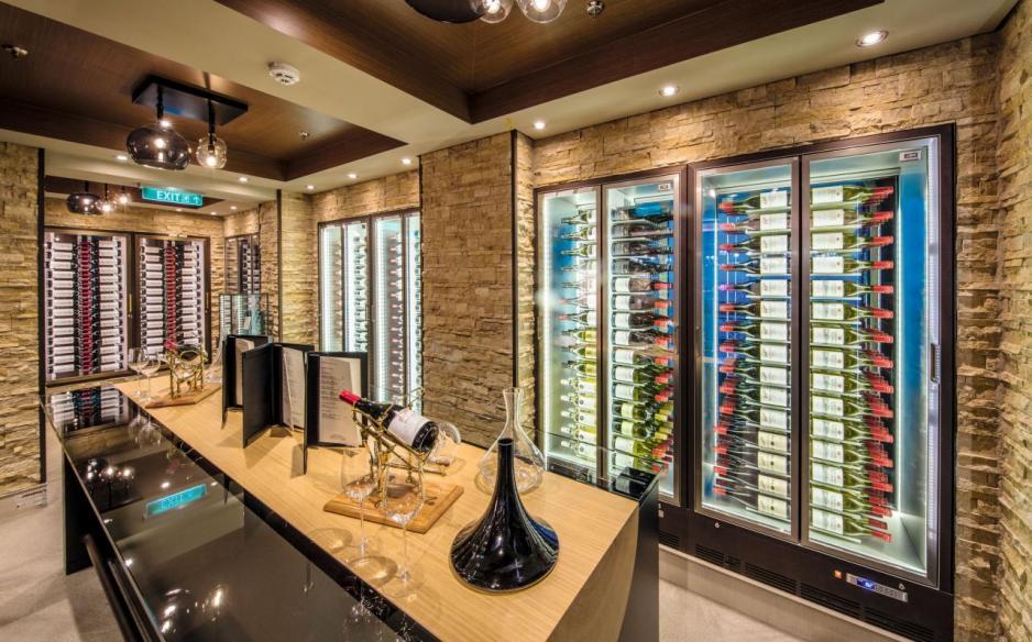 為愛酒人士而設的Penfolds酒窖。