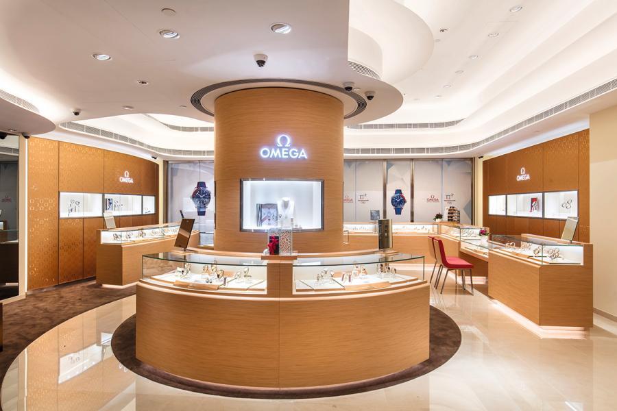 店內裝潢設計上運用了很多大自然的元素。