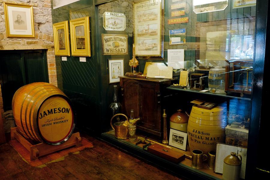 參觀者可了解Jameson的發展歷史。