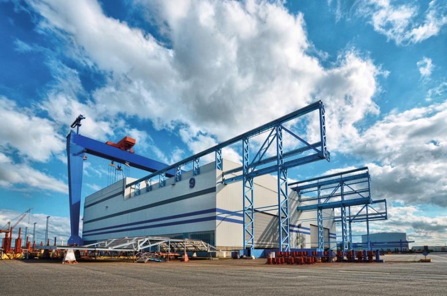 雲頂香港集團收購的Nordic Yards船廠。