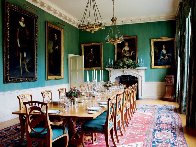在百年大宅中進餐,會是甚麼感受呢?