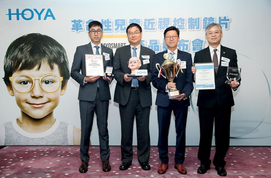 近視離焦技術發明 成功落地,有開發商 生產近視控制鏡片MyoSmart率先於香港及內地開售