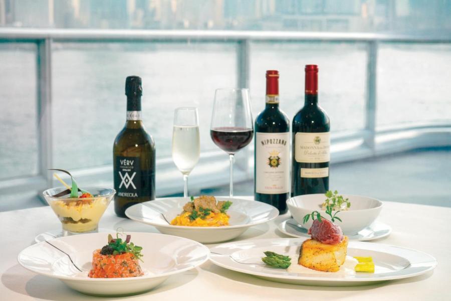 Paper Moon邀請了行政總廚Giuseppe Palmieri,炮製正宗意大利風情的美酒佳餚。