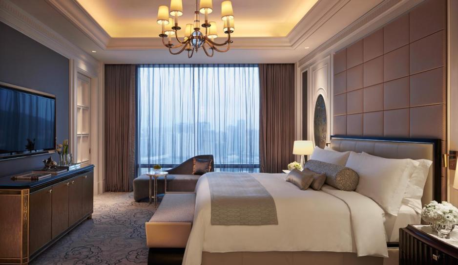 酒店內的星級房間一景。