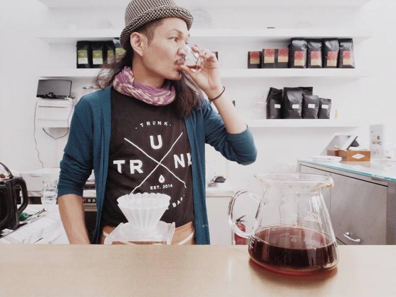 日本咖啡品牌Trunk Coffee。